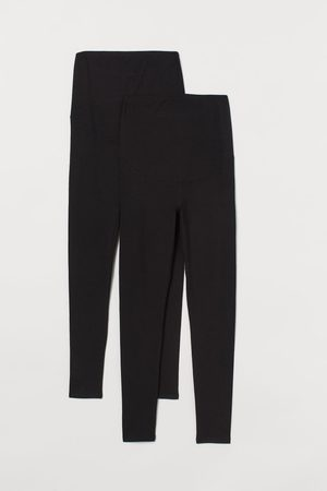 H&M MAMA Pack 2 leggings de punto