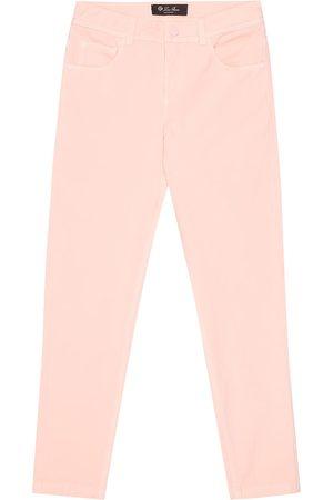 Loro Piana Jeans skinny Mathias de algodón