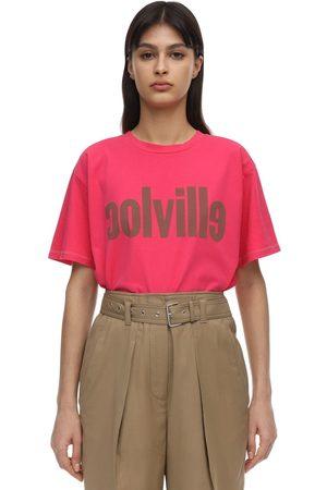 Colville | Mujer Camiseta De Jersey De Algodón Estampada S