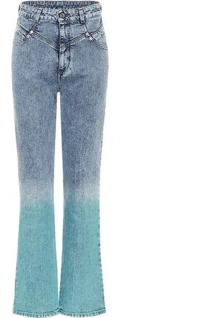 Stella McCartney Jeans rectos Gradient de tiro alto