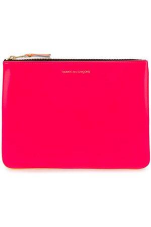 Comme des Garçons Colour-block zipped wallet