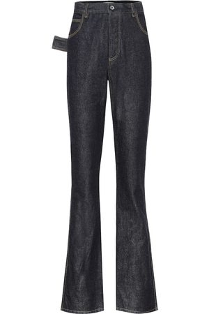 Bottega Veneta Jeans bootcut de tiro alto