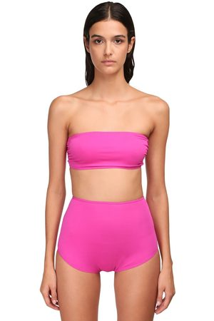 ALEXANDRE VAUTHIER | Mujer Top Tipo Bandeau De Jersey Stretch Xs