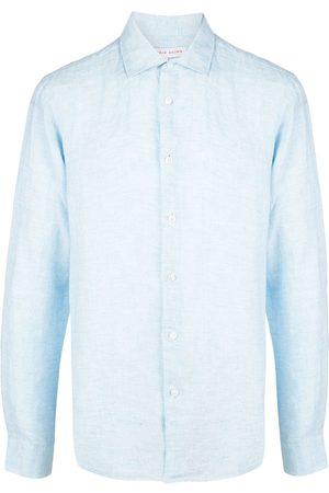 Orlebar Brown Camisa Giles de manga larga