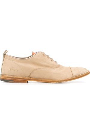 Premiata Zapatos con cordones y efecto envejecido