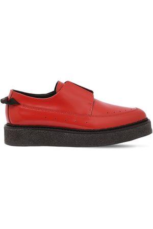 FAQTORY | Hombre Zapatos Derby De Piel Sin Cordones 45