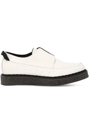 FAQTORY | Hombre Zapatos Derby De Piel Sin Cordones 39