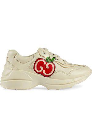 Gucci Zapatillas Rython con estampado GG de manzana