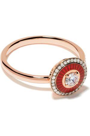 SELIM MOUZANNAR Anillo Mina en oro rosa de 18kt con diamantes