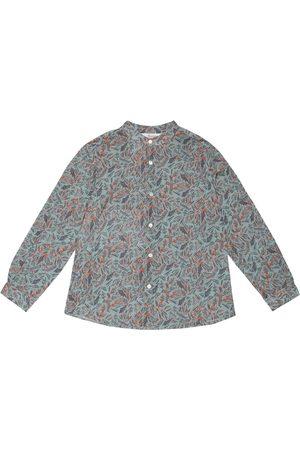 BONPOINT Camisa Eugene de algodón estampada