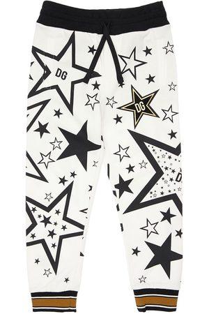 Dolce & Gabbana | Niño Pantalones Deportivos De Algodón Con Estampado 8a