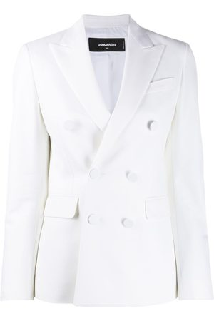 Dsquared2 Mujer Blazers - Blazer liso con doble botonadura