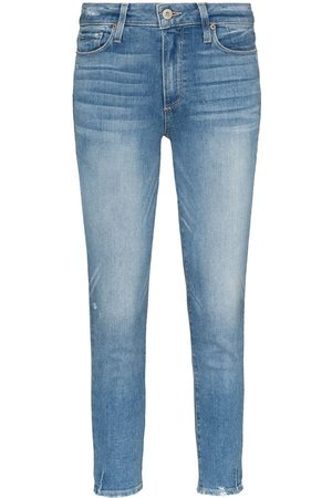 Paige Mujer Cintura alta - Hoxton mid-rise skinny jeans