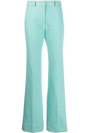 Victoria Beckham Pantalones largos de talle alto