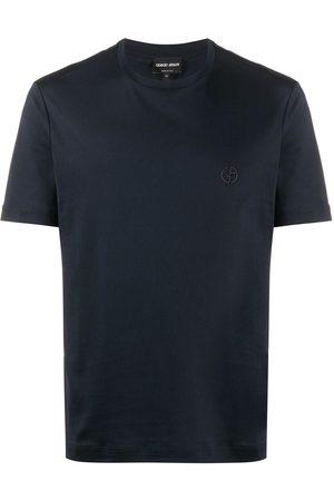 Armani Camiseta de manga corta con cuello redondo