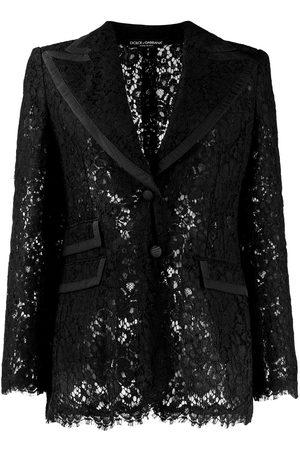 Dolce & Gabbana Blazer con encaje