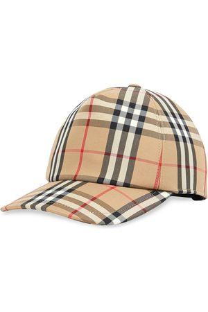 Burberry Gorra de béisbol a cuadros