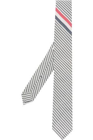 Thom Browne Corbata a rayas con extremo en punta