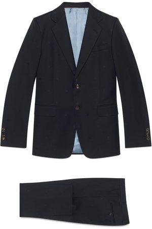 Gucci Hombre Trajes completos - Traje London de gabardina de lana con abejas