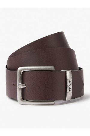 Levi's Hombre Cinturones - New Albert Belt / Dark Brown