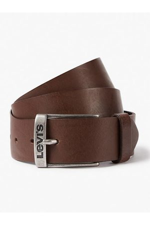Levi's Hombre Cinturones - New Duncan Belt / Dark Brown