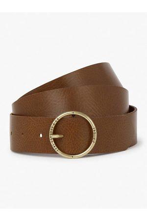 Levi's Mujer Cinturones - Athena Belt (Plus size) / Medium Brown