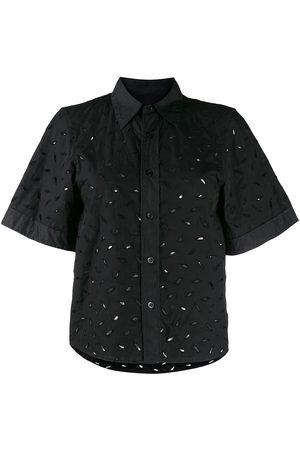 Ami Camisa de manga corta bordada