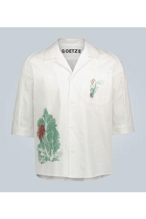 GOETZE Camiseta de algodón estampada
