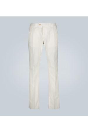 CARUSO Pantalones con doble pliegue