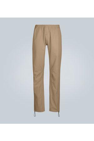 Bottega Veneta Pantalones de algodón con paneles