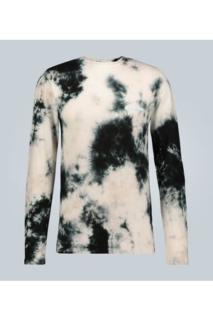 OFF-WHITE Camiseta de manga larga tie-dye
