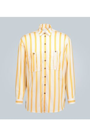 King and Tuckfield Camisa de rayas oversized