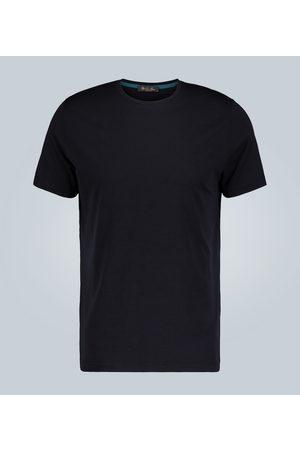 Loro Piana Camiseta mezcla de algodón y seda
