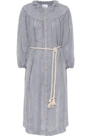 Lisa Marie Fernandez Vestido camisero Fiona de lino