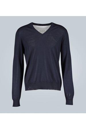 Maison Margiela Camisa jersey dividida
