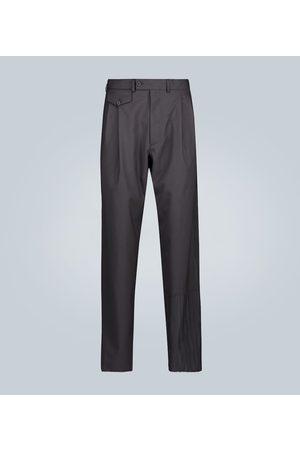 Rochas Pantalones de lana plisados