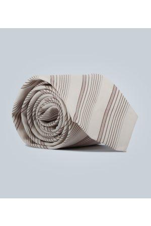 EDITIONS M.R Corbata de rayas diagonales
