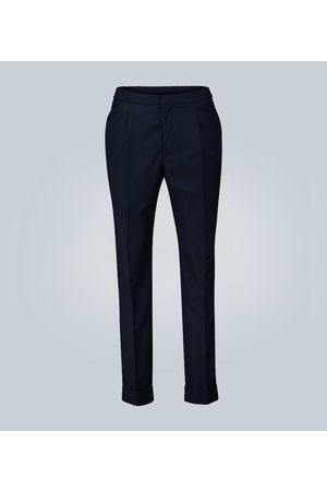 OFFICINE GENERALE Pantalones de algodón plisados