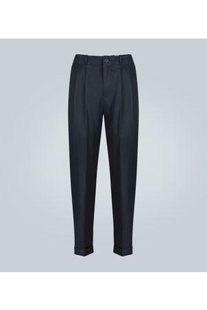 GOETZE Pantalones con pliegues dobles
