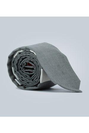 Thom Browne Corbata 4-Bar de lana con rayas