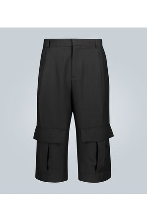 Loewe Shorts cargo de lana