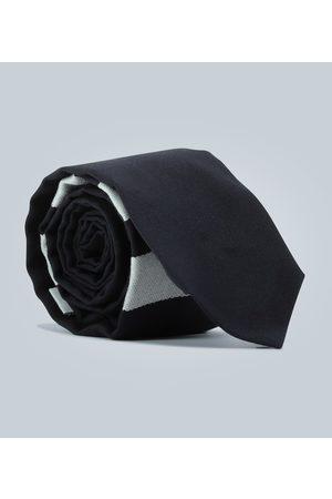 Thom Browne Corbata de lana con rayas