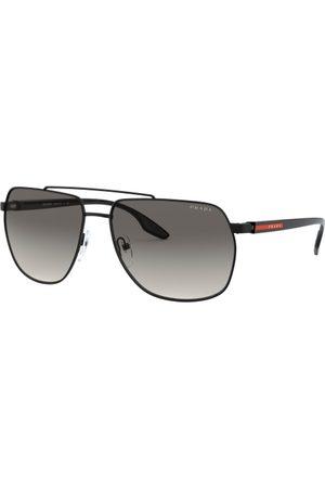 Prada Linea Rossa Hombre Gafas de sol - PS 55VS 1AB3M1 Black