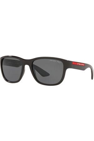 Prada Linea Rossa Hombre Gafas de sol - PS 01US 1AB5Z1 Black
