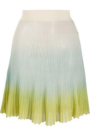 Jacquemus Mujer Plisadas - Helado gradient knitted skirt