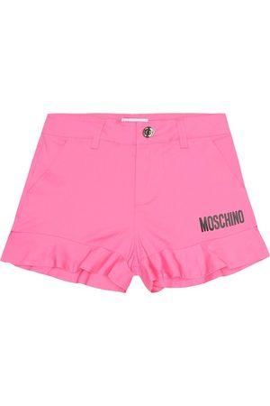 Moschino Shorts de algodón con logo