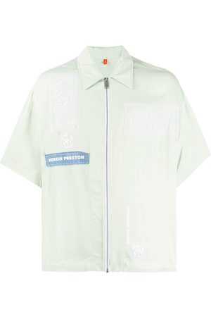Heron Preston Short sleeved zipped shirt
