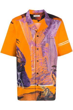 VALENTINO Camisa Yellow City con botones