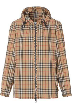 Burberry Chaqueta con capucha y Vintage Check