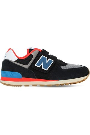 "New Balance | Niña Sneakers ""574"" De Ante Y Malla 5"